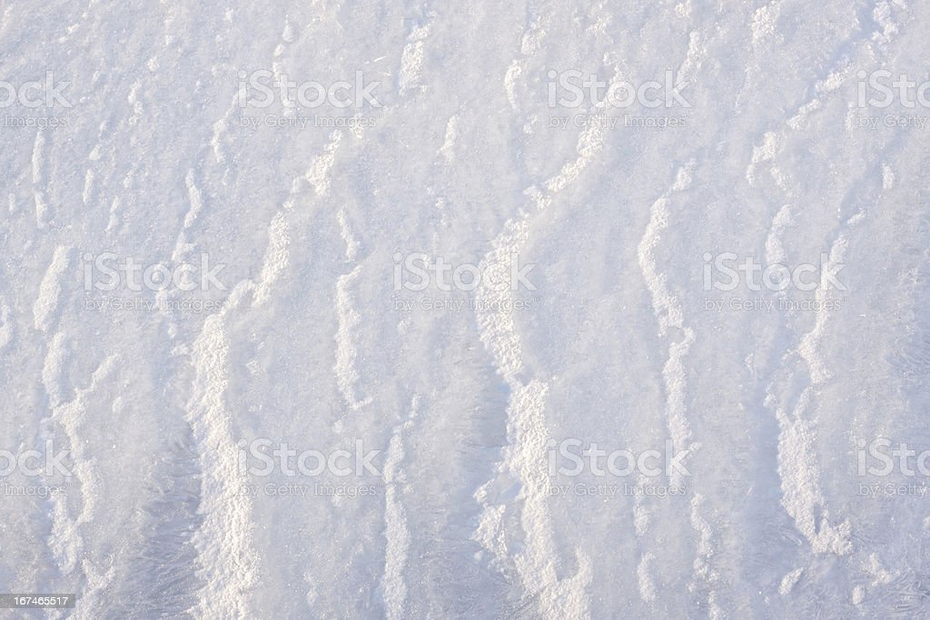 Icy surface royalty-free stock photo