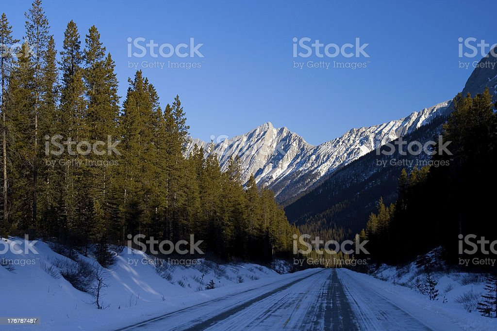 Icy Travel royalty-free stock photo