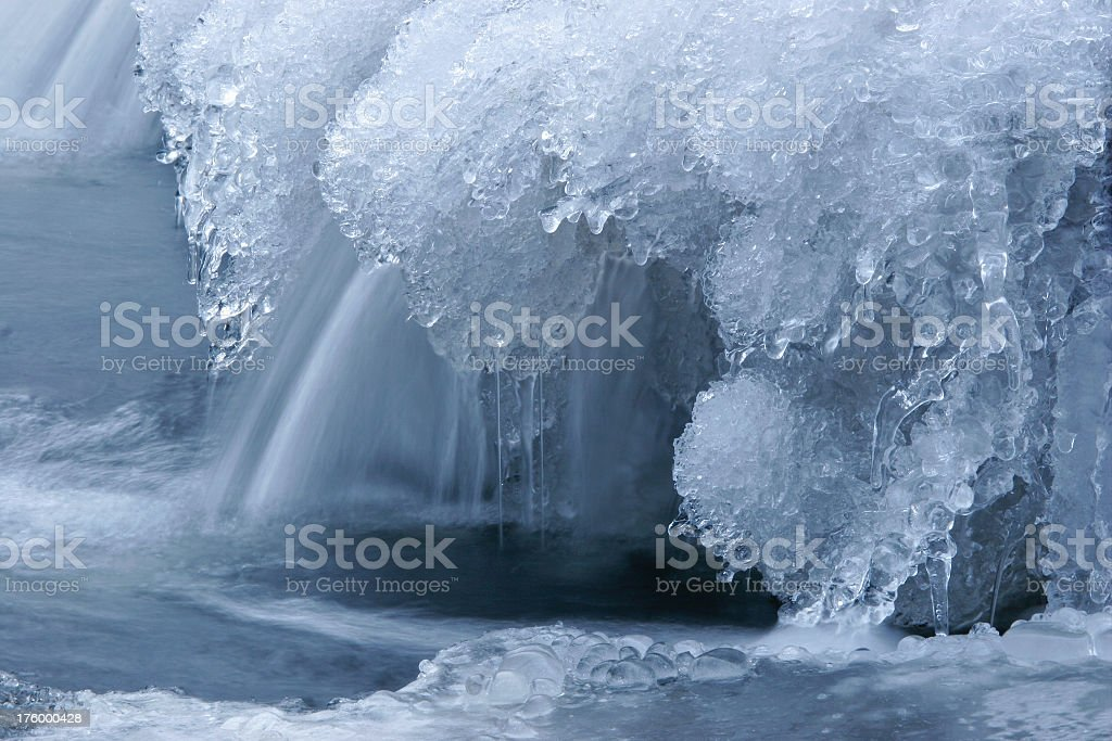 Icy Water royalty-free stock photo