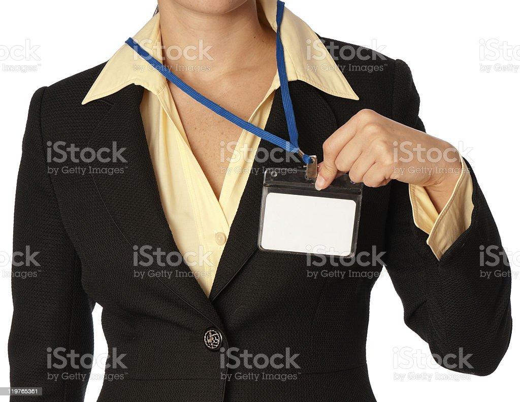 Id card stock photo