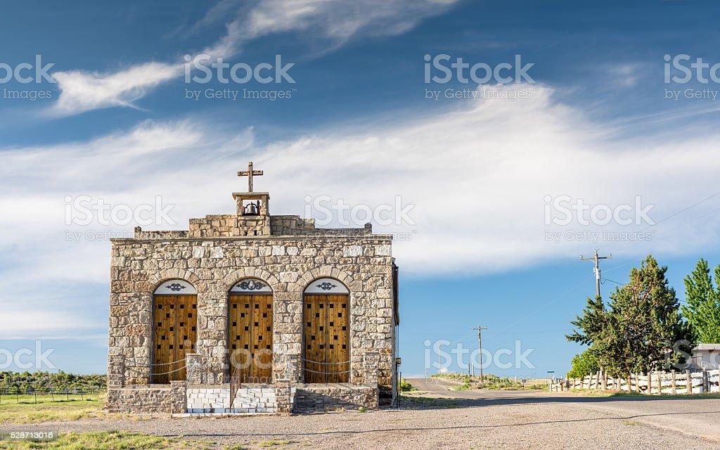 Idaho Church in rural Idaho stock photo