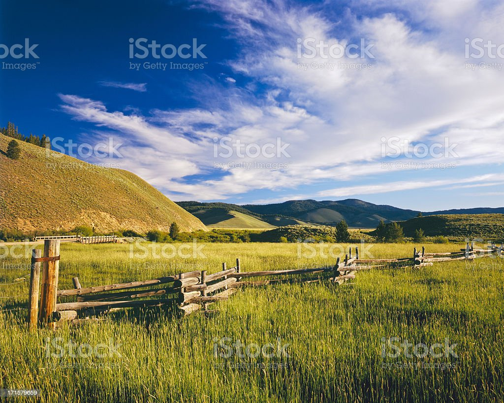 Idaho country side stock photo
