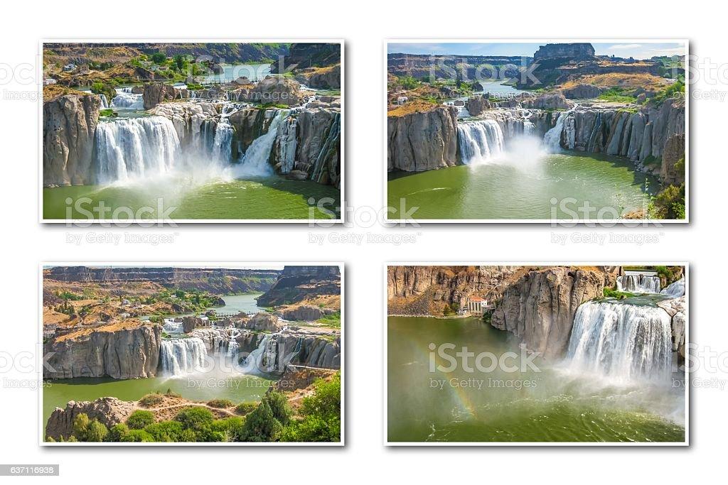Idaho Falls Collage stock photo