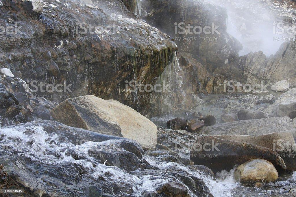 Idaho hot springs stock photo