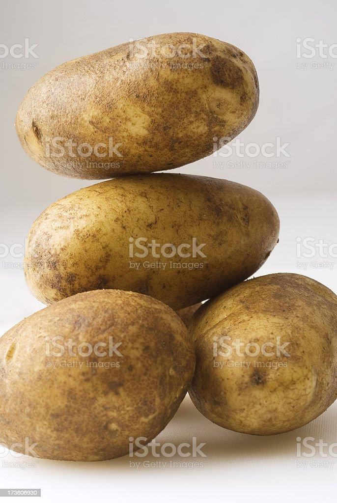 Idaho Potatoes stock photo
