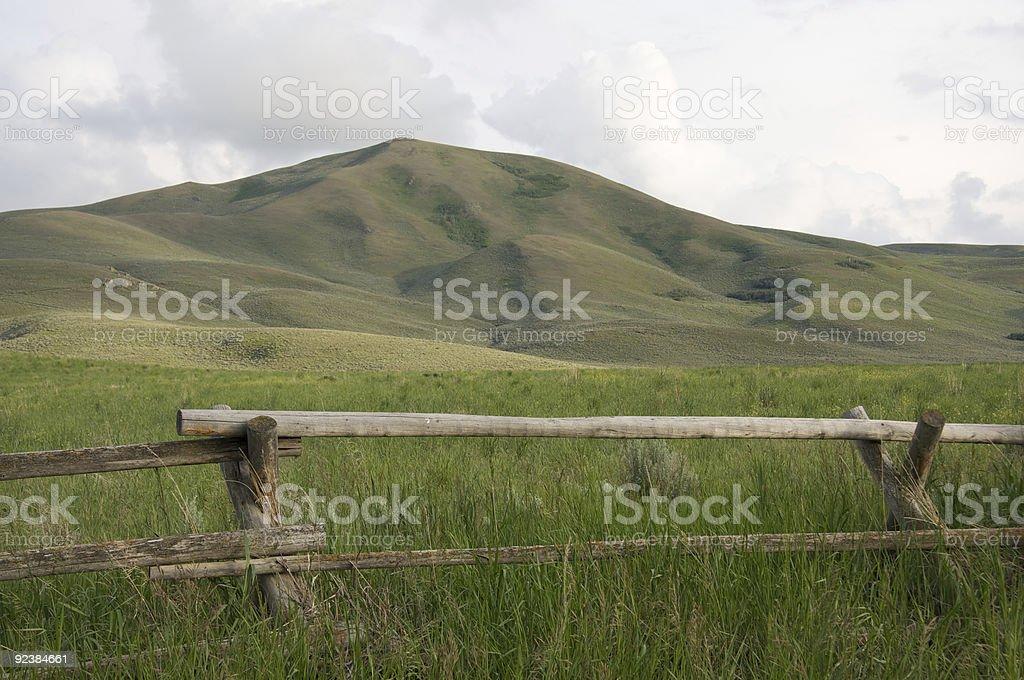 Idaho Ranch stock photo