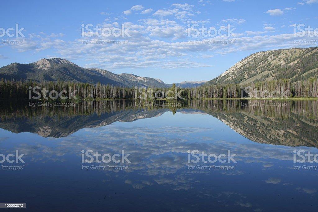Idaho reflection stock photo