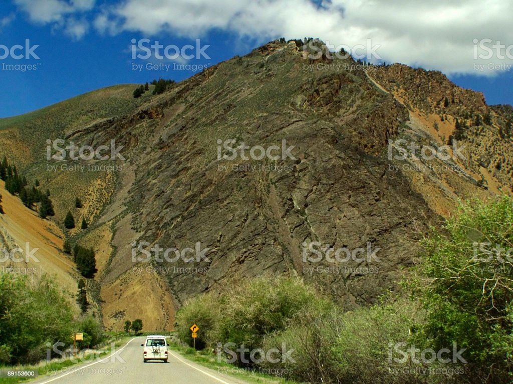 Idaho Roadways stock photo