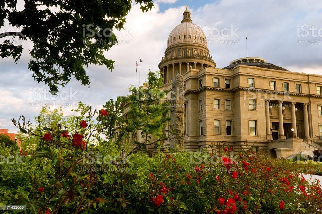 Idaho Sate Capitol. Boise royalty-free stock photo