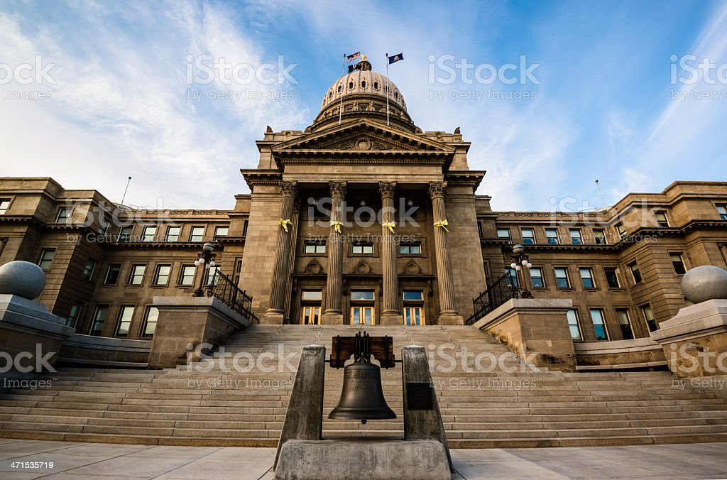 Idaho State Capitol, Boise stock photo