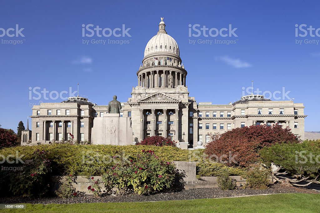 Idaho State Capitol Building royalty-free stock photo