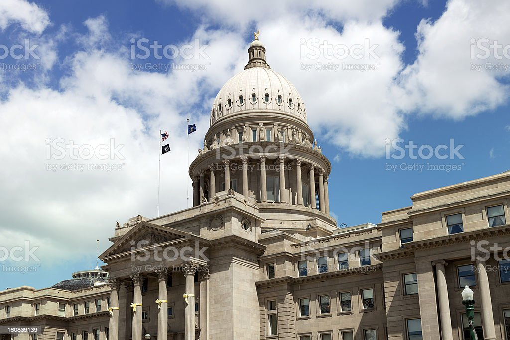 Idaho State Capitol Building stock photo