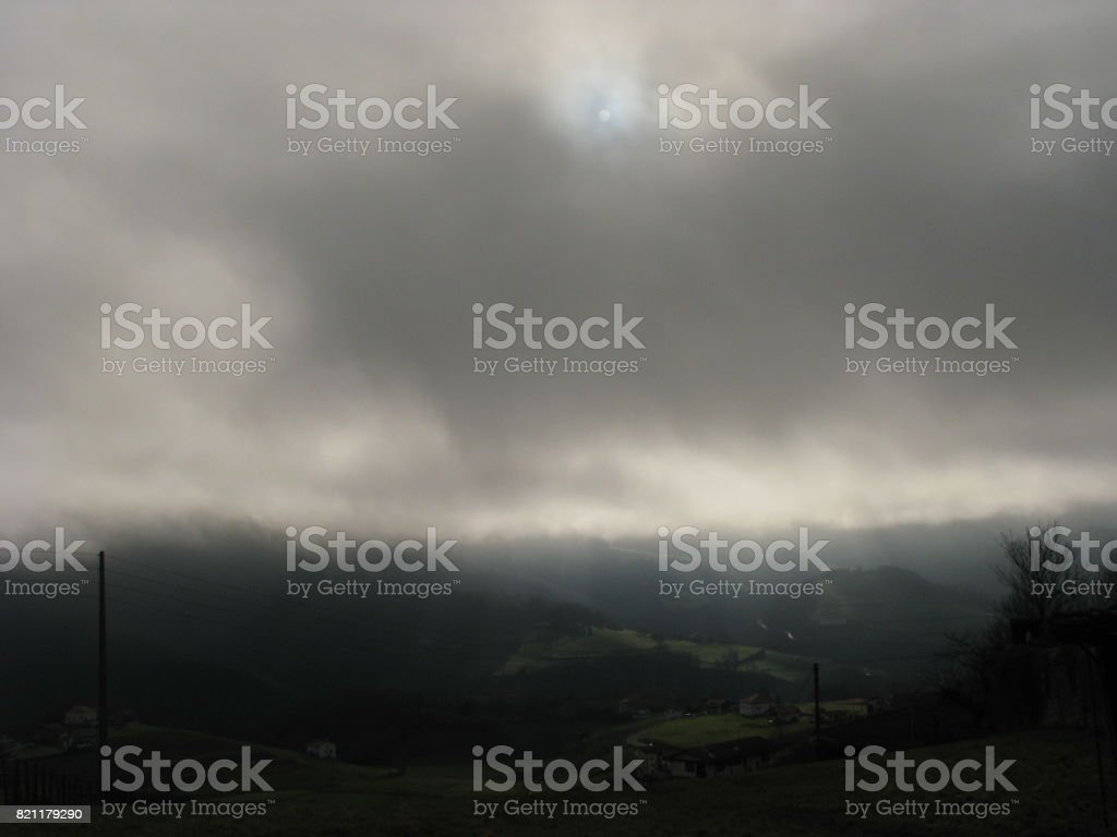 Idantzi clarooscuro stock photo