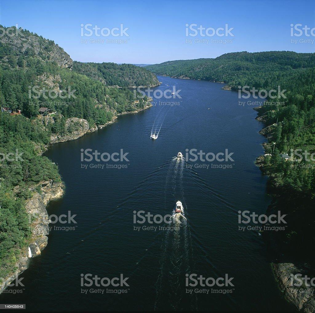 Iddefjord royalty-free stock photo