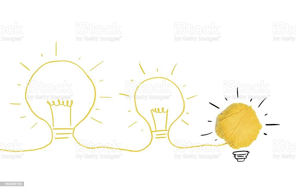 Idea and innovation concept royalty-free stock photo