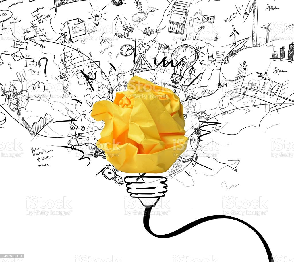 Idea and innovation concept stock photo