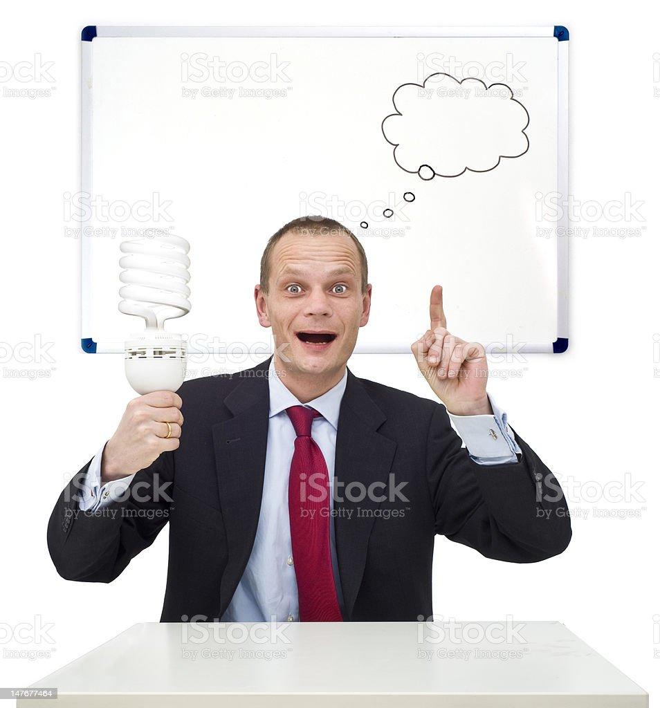 Idea and innovation stock photo