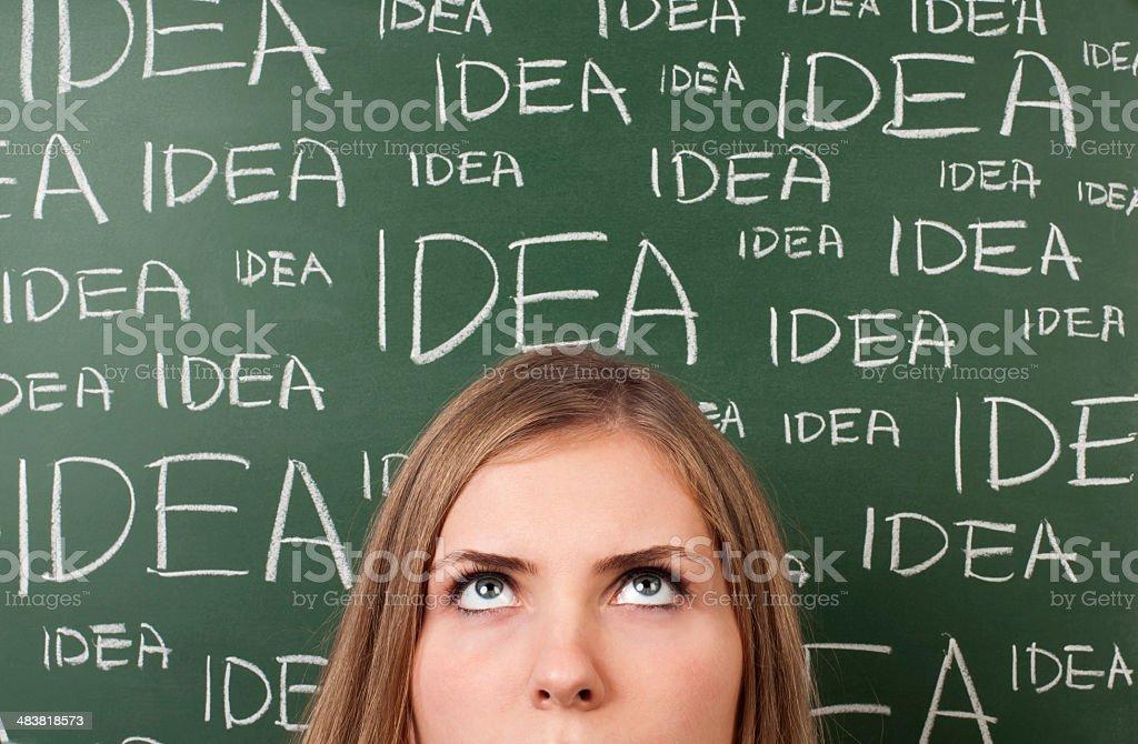 idea board royalty-free stock photo