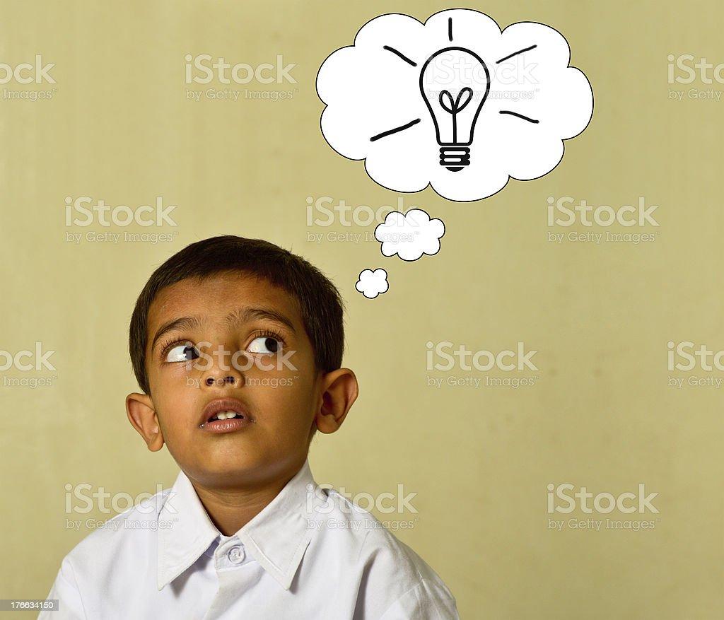 idea lamp royalty-free stock photo