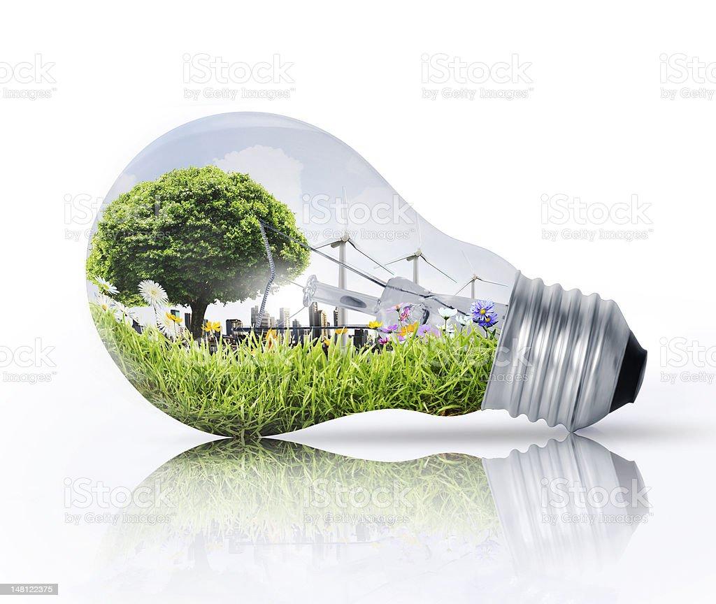 Idea ,light bulb stock photo