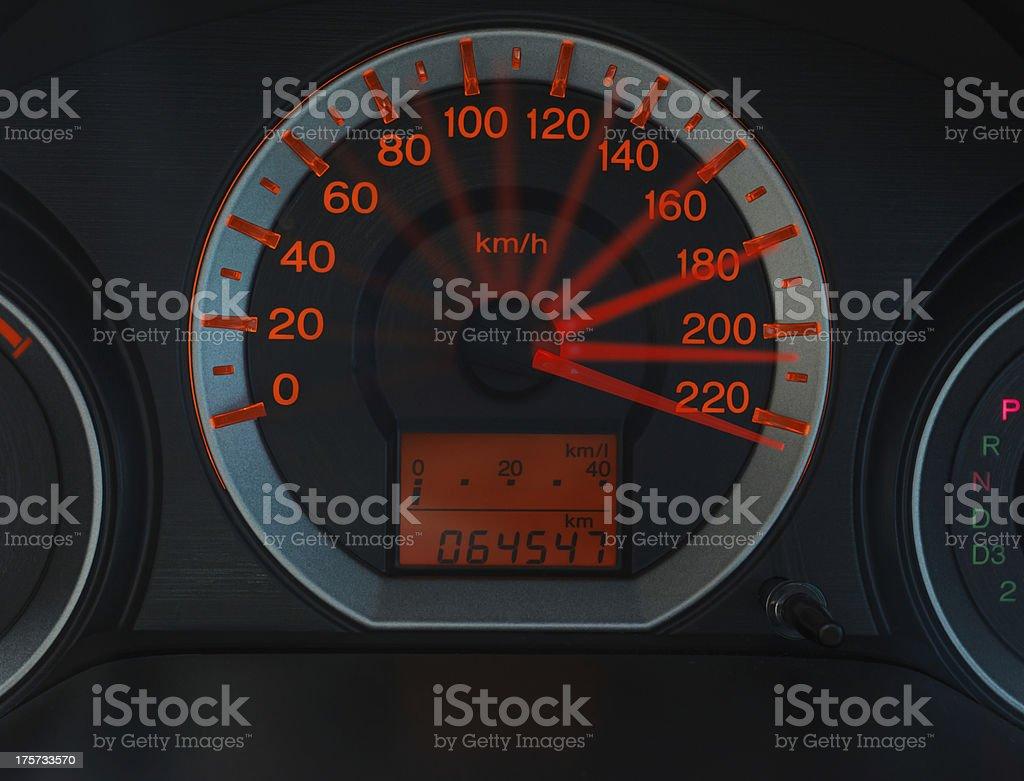idea Odometer royalty-free stock photo