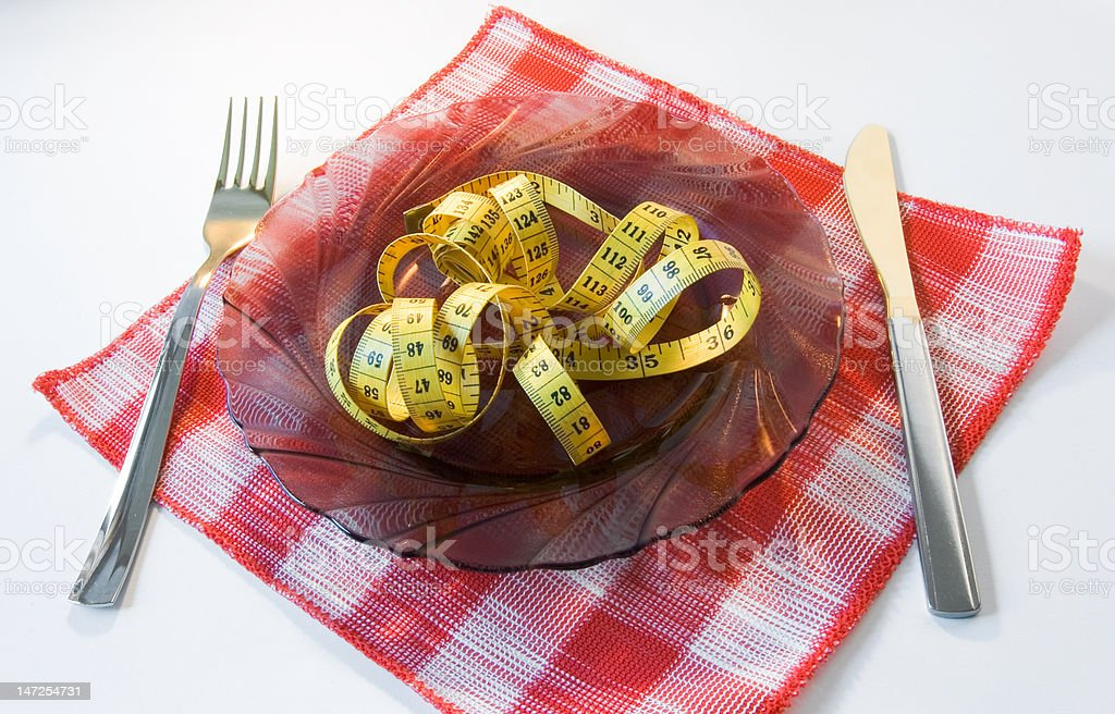 idea of diet royalty-free stock photo