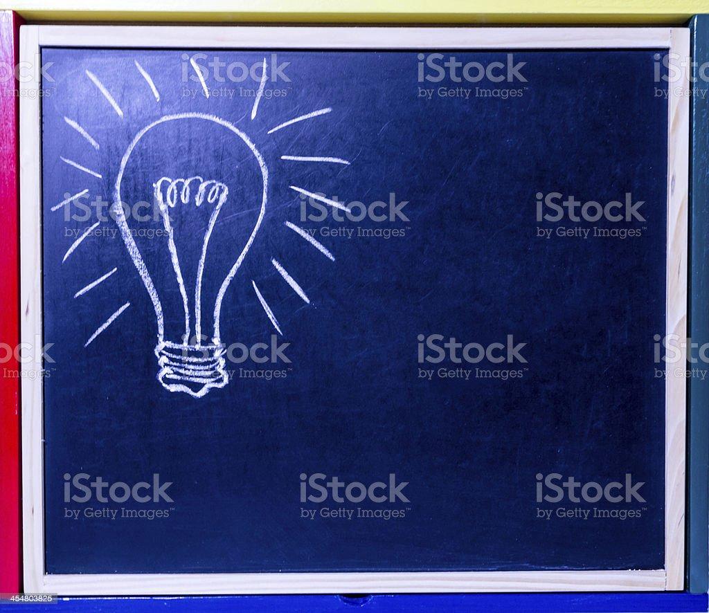Idea. royalty-free stock photo
