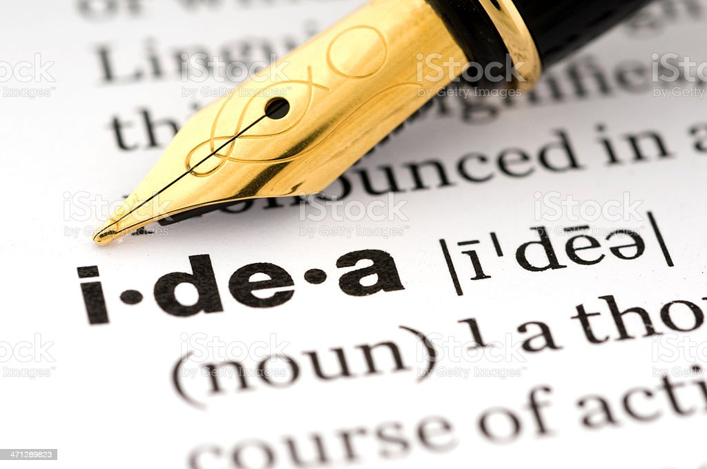 Idea royalty-free stock photo