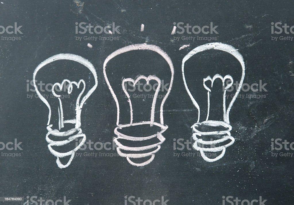 idea sign stock photo