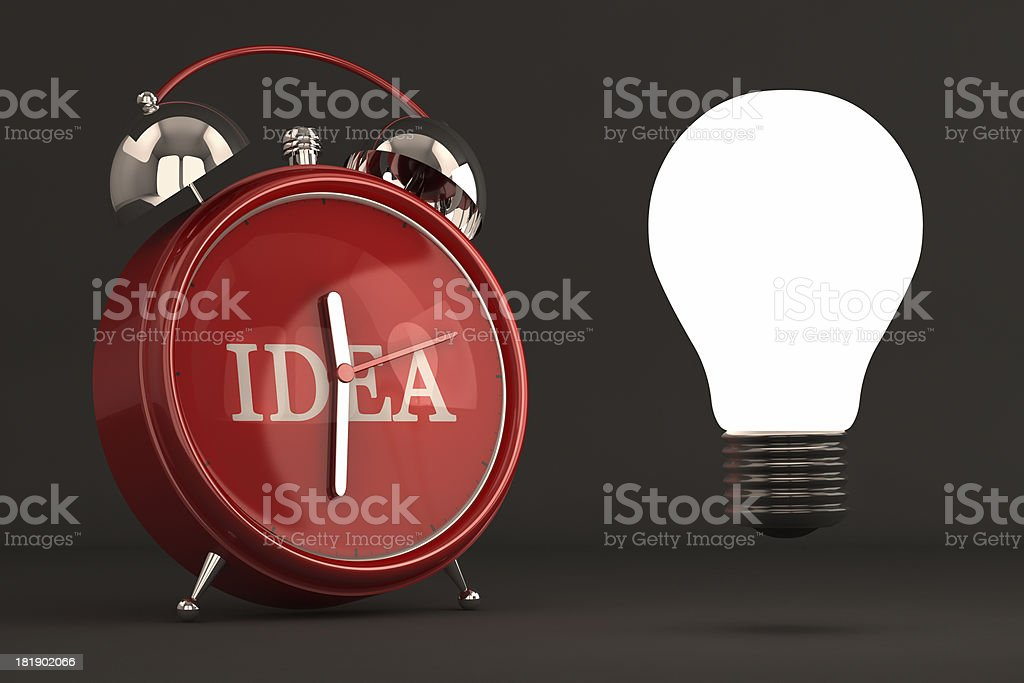 Idea Time royalty-free stock photo