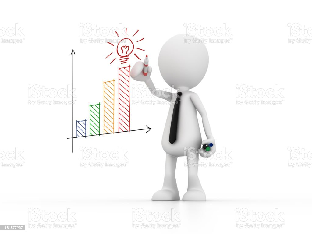 Idea to Business stock photo