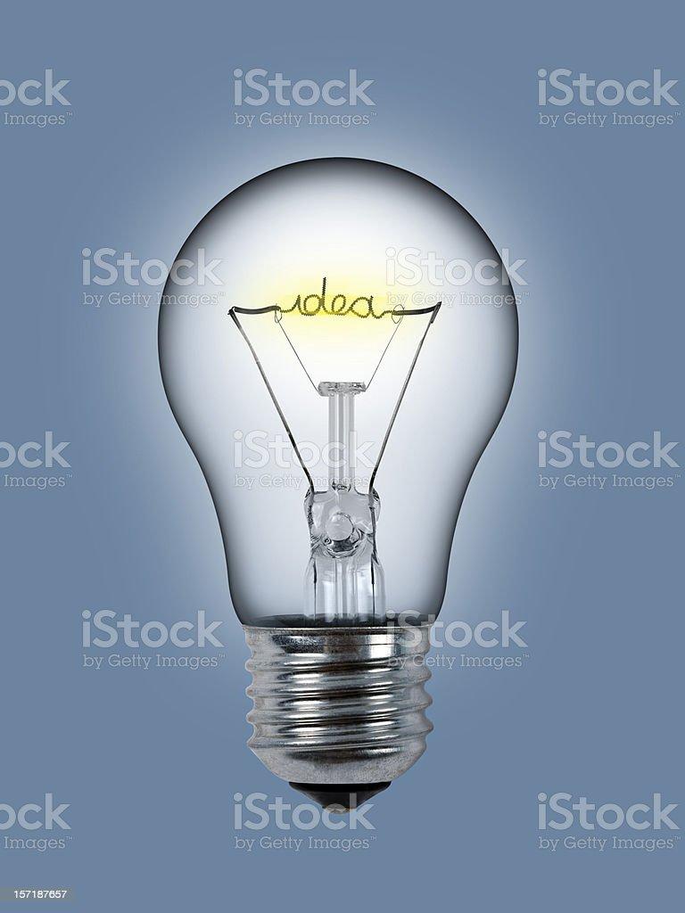 ideaa Bulb stock photo