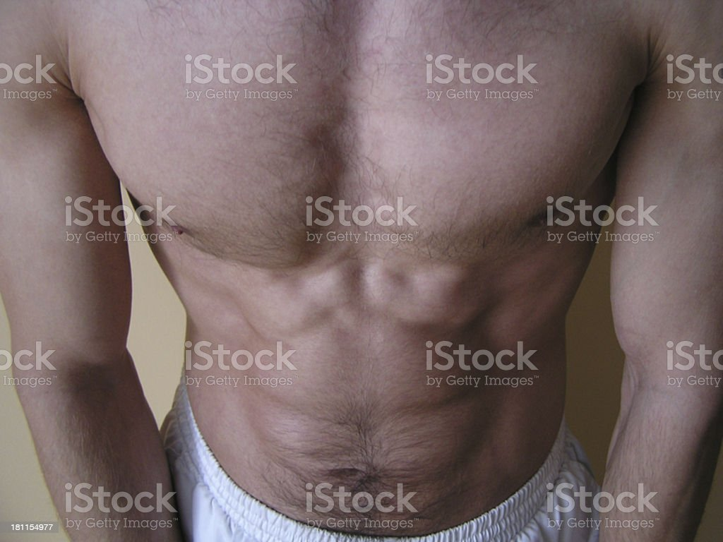 Ideal body royalty-free stock photo