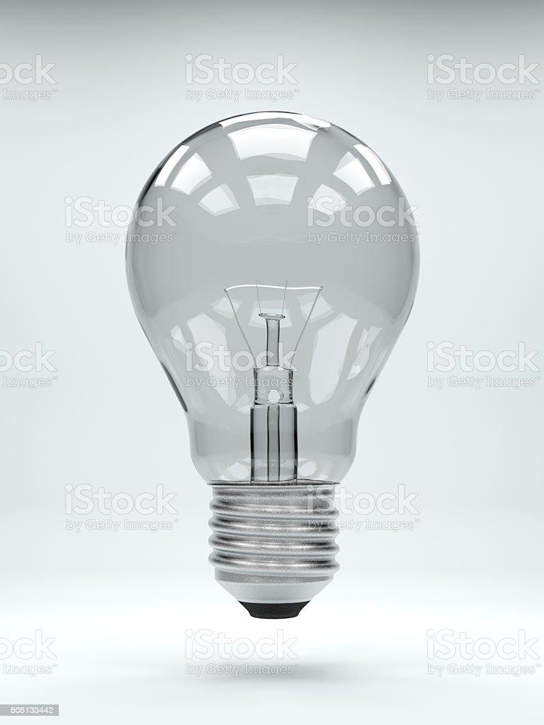 に理想的な背景に縦の電球 ロイヤリティフリーストックフォト