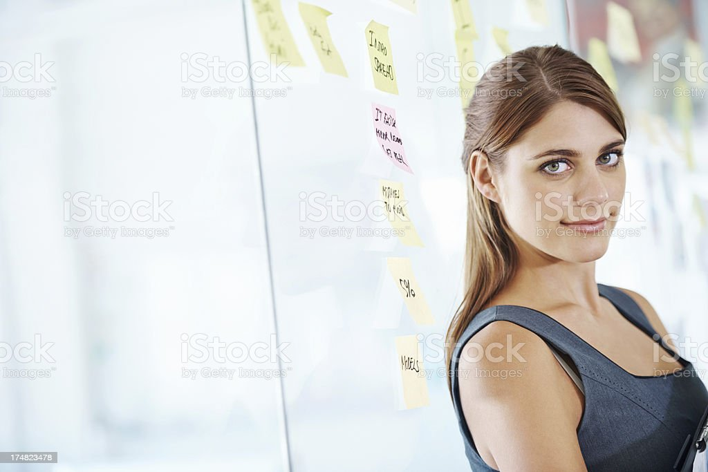 Ideas are my speciality royalty-free stock photo