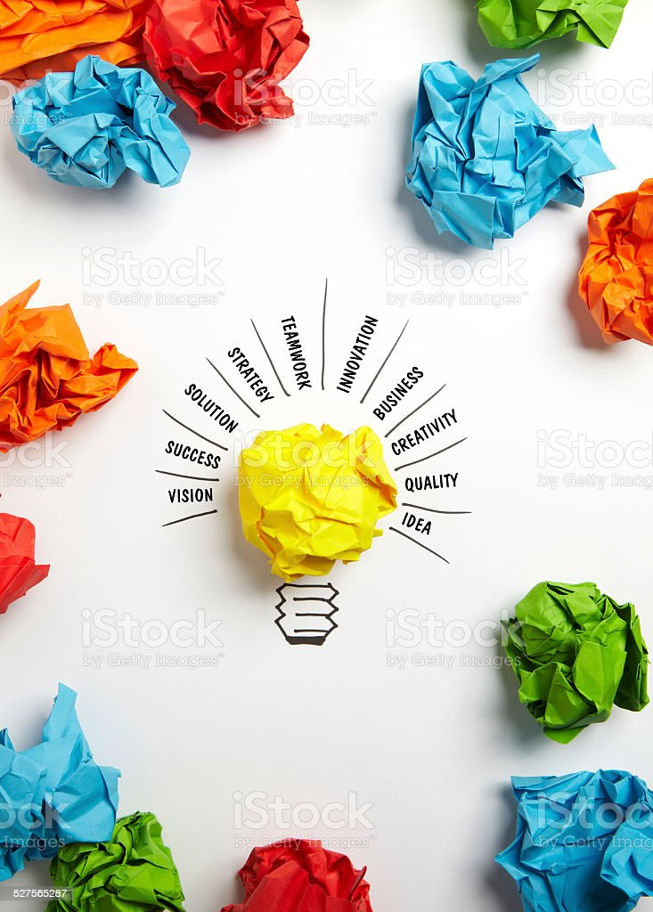 Ideas for Strategy stock photo