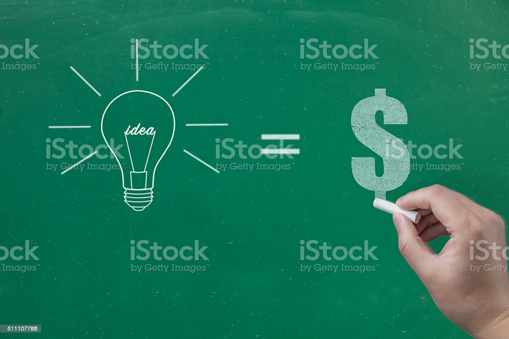 Ideas Makes Earnings stock photo