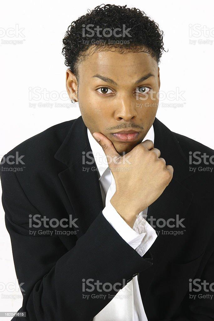 Ideas Man stock photo