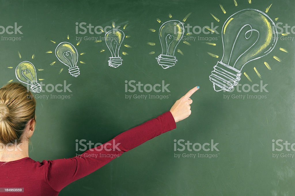 Ideas royalty-free stock photo