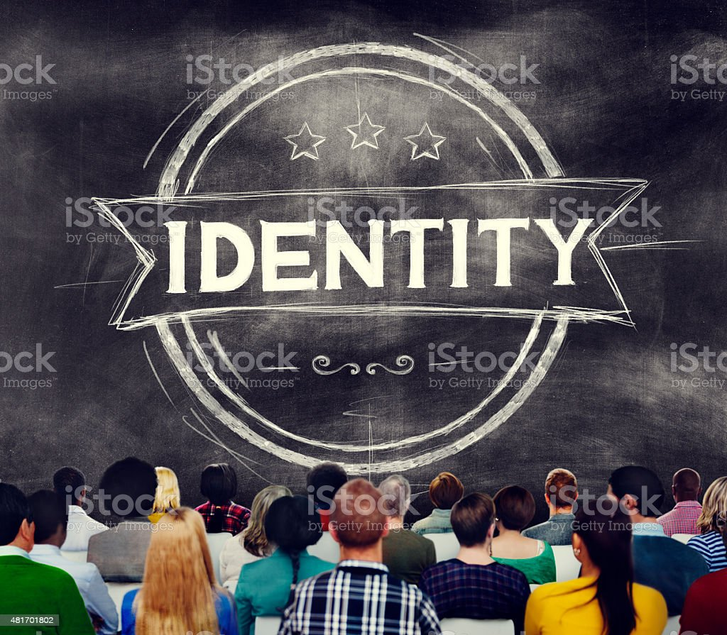 Identity Branding Marketing Copyright Brand Concept stock photo