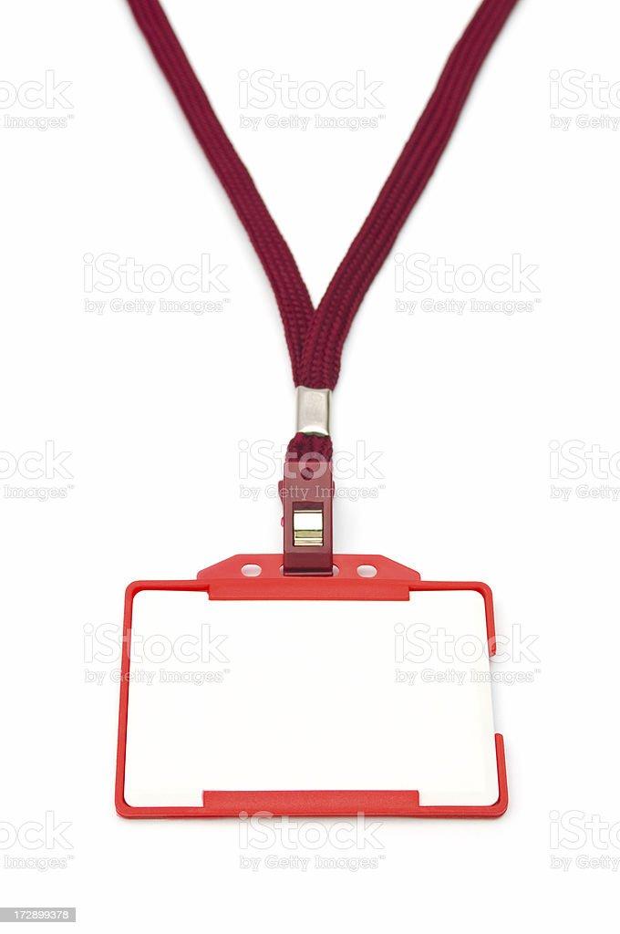 Identity Card royalty-free stock photo