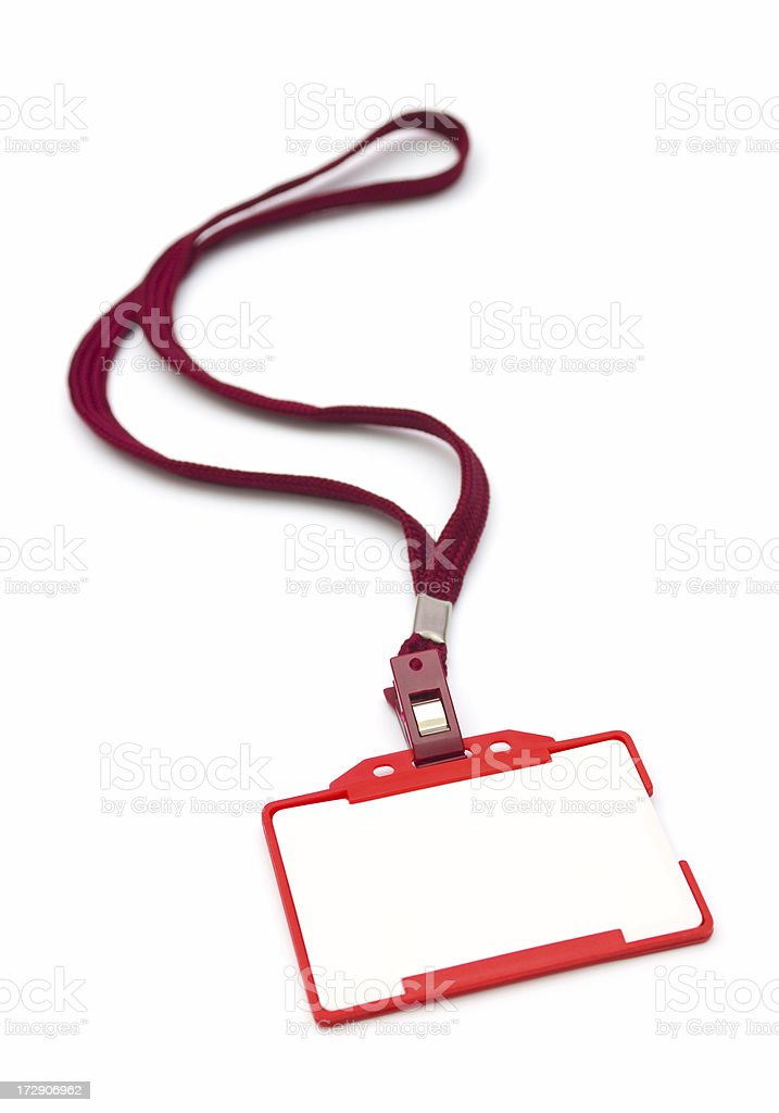 Identity Card royalty-free stock photo