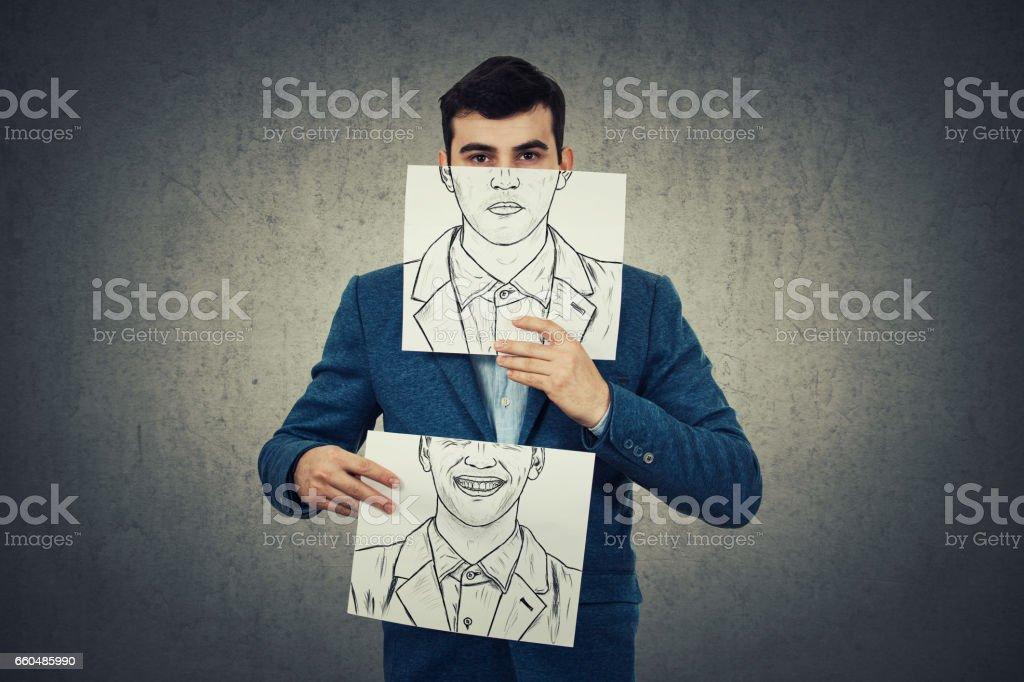 Identity concept. stock photo