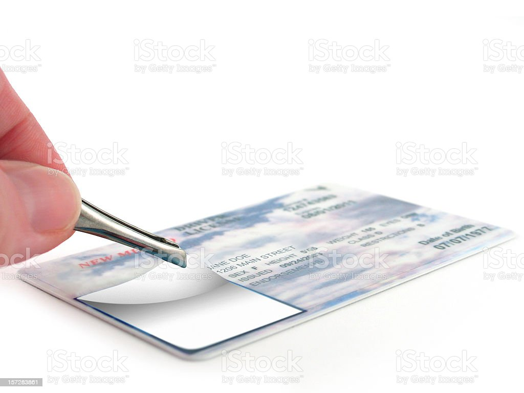 Identity Theft stock photo