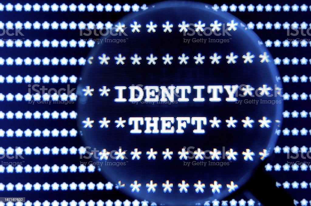Identity Theft royalty-free stock photo
