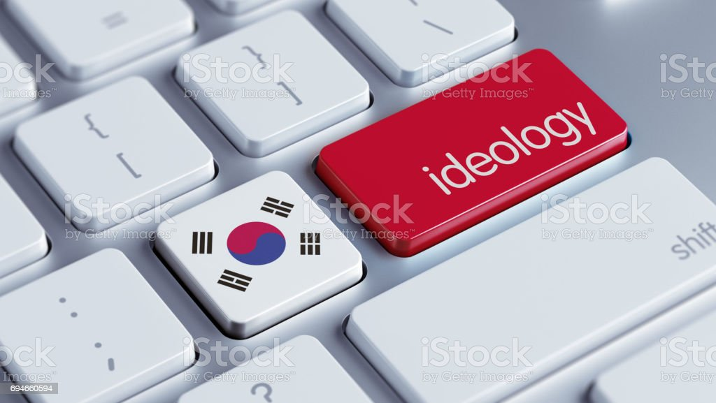 Ideology Concept stock photo