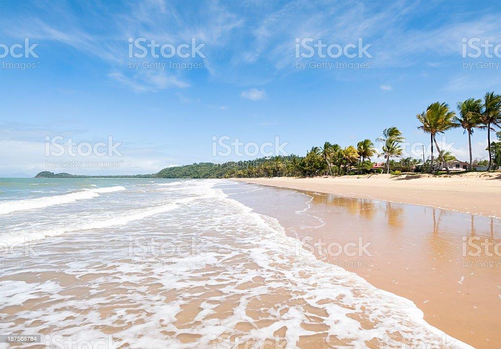 Idyllic Beach royalty-free stock photo