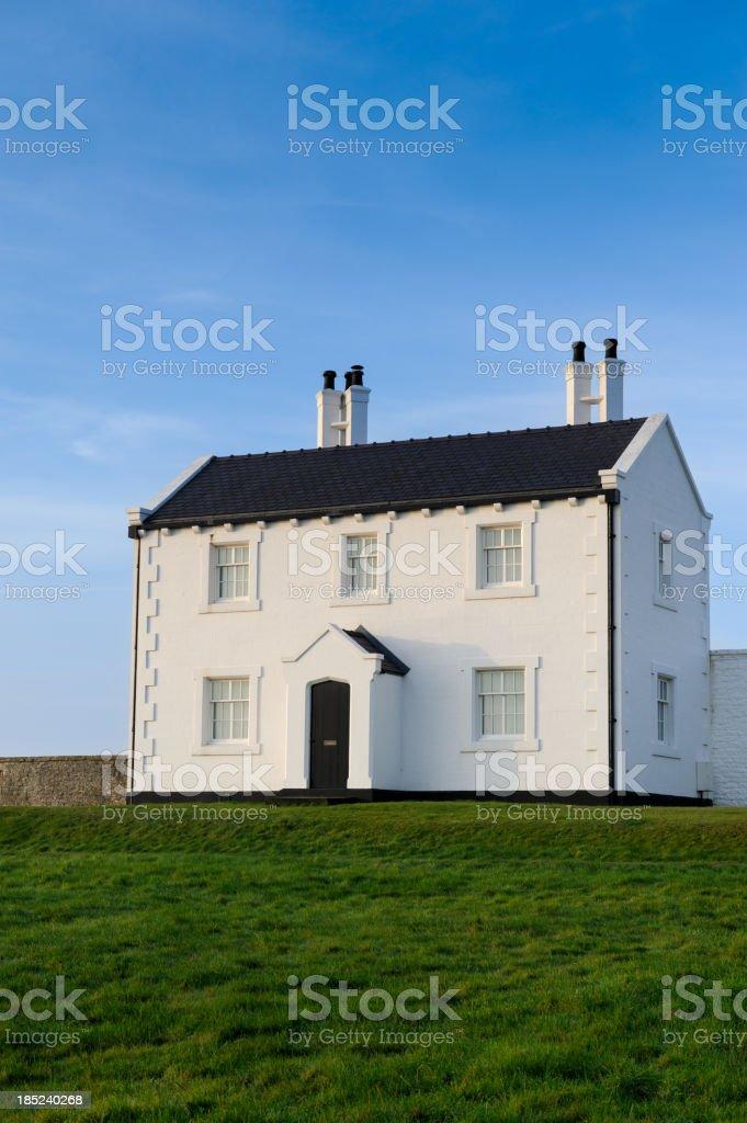 Idyllic Countryside House stock photo