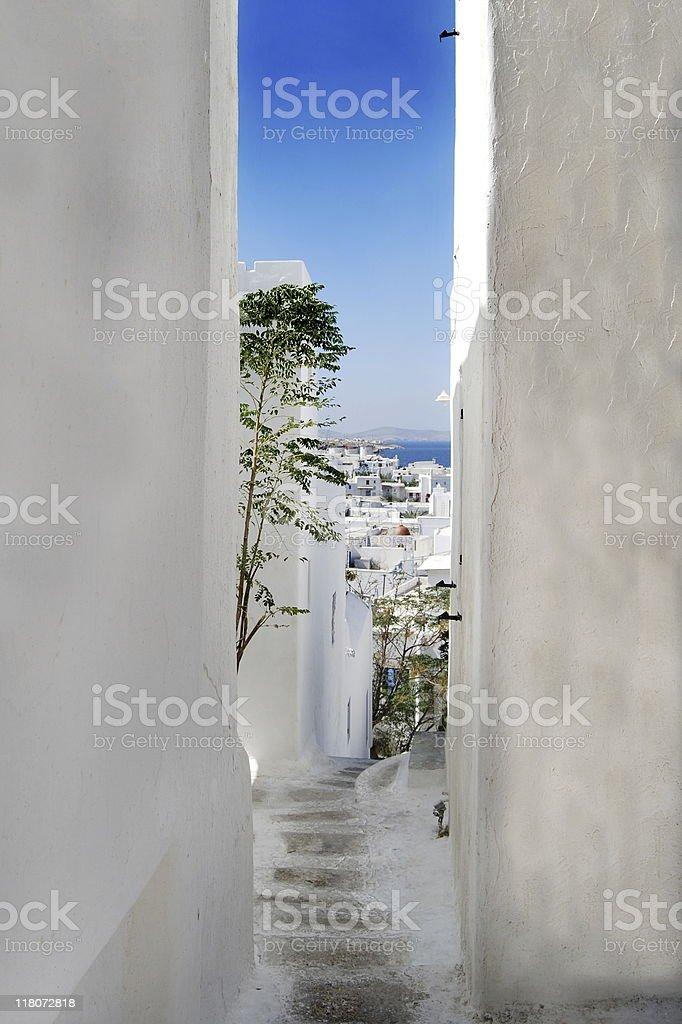 Idyllic Greek Island- Mykonos royalty-free stock photo