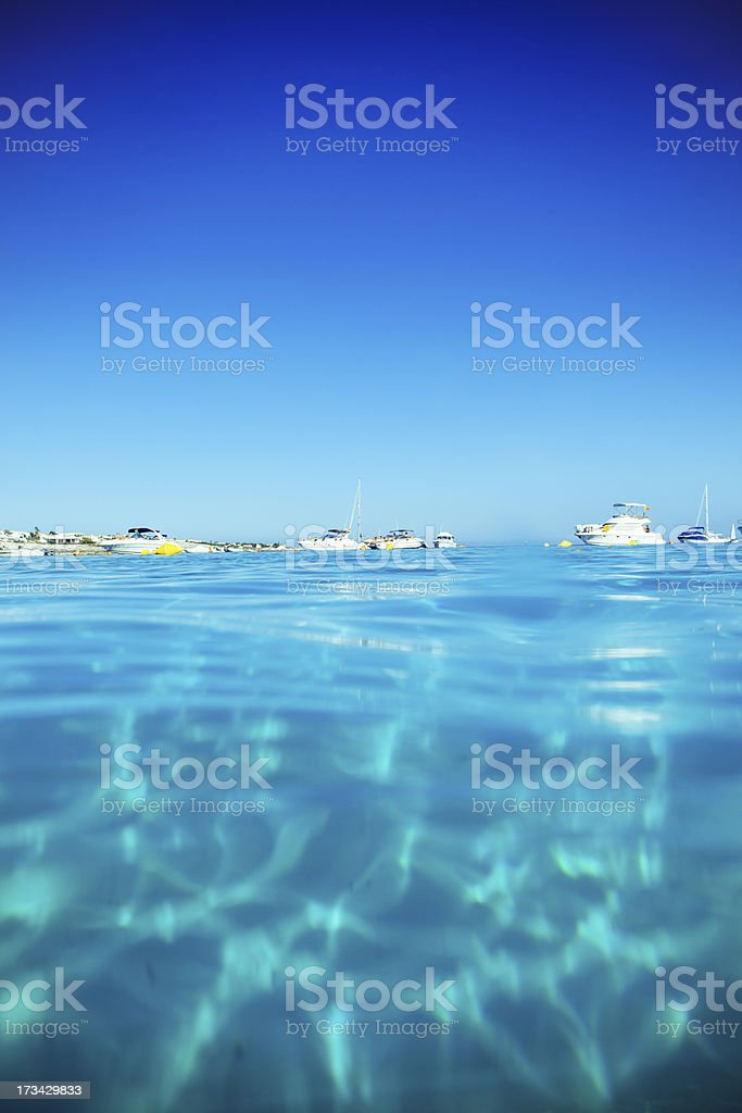 Idyllic holidays in Minorca royalty-free stock photo